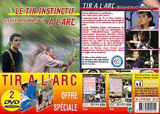 Lot 2 DVD Tir à l'Arc : Initiation et tir instinctif - Tir à l'arc