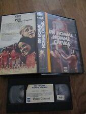 Un Homme Nommé Cheval de Elliot Silverstein, VHS CBS, Western, RARE!!!!