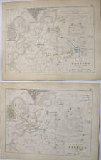 MAPS PLANS BATTLE OF MARENGO ITALY FRENCH AUSTRIANS