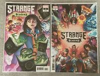 Strange Academy 1 Adams & Campbell Variants - 1st app of various characters - VF