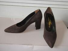 NEW WOMENS STEPHANE KELIAN BROWN SUEDE PUMPS SIZE 7 1/2