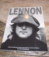 "THE BEATLES "" LENNON"" A JOURNEY THROUGH THE LIFE AND TIMES IN WORDS AND PICTURES"