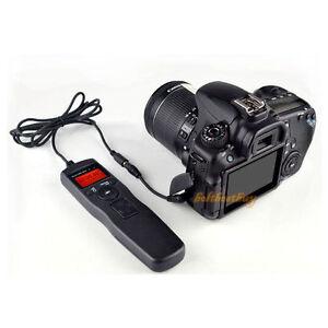 Shutter Timer Remote Control Cord for Canon 1200D 1100D 1000D 550D 500D 400D 60D