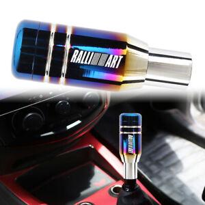 RALLIART Aluminum Burnt Universal Automatic Car Gear Shift Knob Lever Shifter