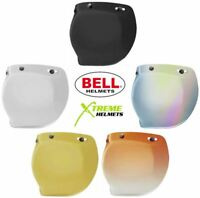Bell 3 Snap Bubble Shield Universal Custom 500 Helmet Iridium Gradient