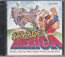 Arcade America (PC, 1995) 7th Level Old School Humor Game Collection RARE CD-Rom