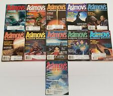 11 Issues of Asimov's Science Fiction Magazine~1998 Complete Year Full Set