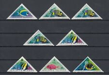 TIMBRE STAMP 8 ILES MALDIVES Y&T#109-116 POISSON FISH NEUF**/MNH-MINT 1962 ~B33