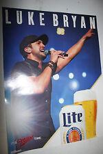 1 Miller Lite Luke Bryan Concert Posters 2015