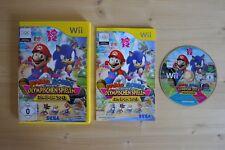 Wii - Mario & Sonic Olympische Spiele London 2012 - (OVP, mit Anleitung)