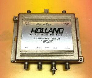 Holland Electronics HMS-4APE Satellite Multi Switch 40-2150 MHz