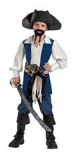 PIRATES OF THE CARIBBEAN.CAPT. JACK SPARROW BOYS PIRATE COSTUME SMALL 4-6