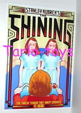 SHINING Stanley Kubrick Jack Nicholson -  cult movie cinema poster