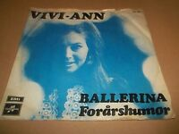 "VIVI-ANN "" BALLERINA "" 7"" SINGLE VG/VG 1974"