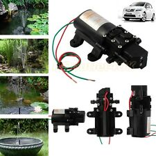 100PSI High Pressure Micro Diaphragm Water Pump Automatic Switch 4L/min 12V/60W