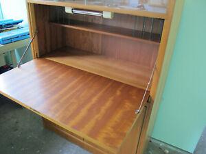 Vintage Mid Century Sekretär Schreibtisch 50er 60er Jahre schöner Zustand! NICE!