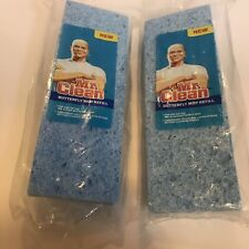 2 New Mr. Clean Butterfly Mop Refill Discontinued