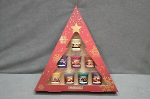 Wickford & Co Votive Candle Selection Of 8 Fragrance Christmas Candles Gift Set