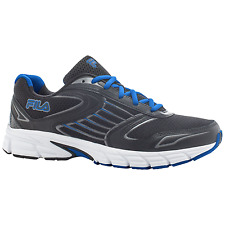 Men's Fila Dynamo Running Shoe Black/Blue Size 8 #NKCAC-738