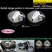 Pair Intake Air Cleaner Filter Cover Fits Suzuki Boulevard M109 M109R VZR1800