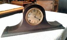 Ingram Shelf or Mantle Clock Walnut Case Old Finish Antique