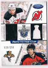 2012-13 CERTIFIED TRAVIS ZAJAC MIKAEL SAMUELSSON DUAL JERSEYS 2 COLORS 020/250