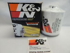 K&N Performance Engine Oil Filter HP1001 Premium Gold Wrench Off On