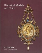 SOTHEBY'S Historical Medals and Coins Auction Catalogue London 8 July 1997