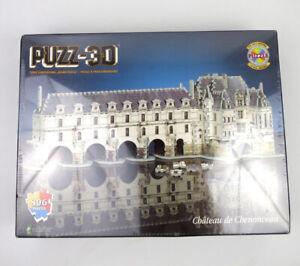 New Chateau de Chenonceau 3D Puzzle Puzz-3D 806 Pieces Sealed Box Wrebbit 1995