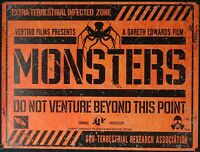 Monsters (2010) UK QUAD
