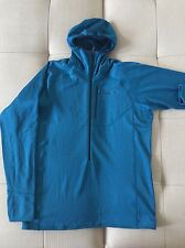 Patagonia Men's R1 Hoody Size L Color Underwater Blue NWT