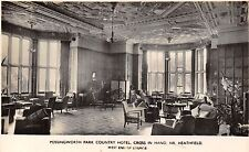POSTCARD  SUSSEX    POSSINGWORTH  PARK  Country  Hotel  ( Interior )    RP