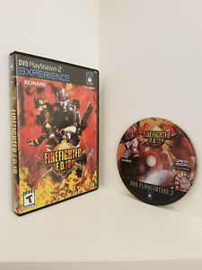 """Firefighter F.D.18 """"Playstation 2 Experience version"""", PS2, Untested"""