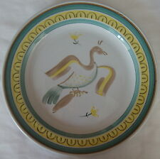 ARABIA OF FINLAND PATTERN 39 LUNCH PLATE - ANIMALS SQUIRL EAGLE DUCK FISH