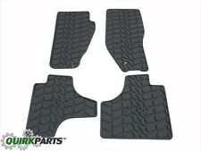 2008-2010 Jeep Liberty Slush Mats Gray Set Of 4 MOPAR GENUINE OEM BRAND NEW