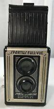 Vintage Spartus Full-Vue Box Camera Top View Chicago Decorative Display Antique