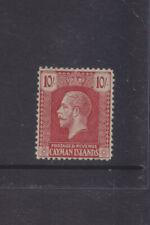 CAYMAN ISLANDS-1921-KGV-10 SHILLINGS-(10/-)-SG 67-M-$50-inc local reg post