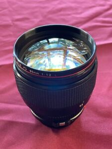 Canon FD 85mm 1.2L Lens, EX- has social number engraved, almost never used perfe