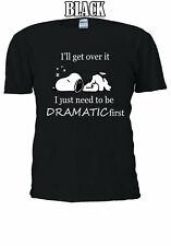 Snoopy Dramatic qoutes Men Women Unisex T-shirt V140