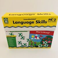 Center Solutions Language Skills PK-2 Special Learners Home School Differntiate