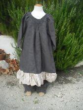 Ensemble robe et pantalon de Talia Benson en 8 ans lin épais