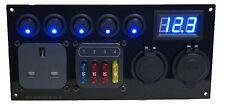 Fiat Ducato Switch Panel USB 12V CBE 1 x 240V 1 x Fuse Holder