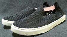 New Womens Mossimo Dedra Woven Flat Slip On 096001078 Black Size 9