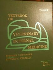 Textbook of Veterinary Internal Medicine Stephen J. Ettinger 5th edition Vol.2