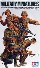 Tamiya 1/35 WWII German Front-Line Infantrymen 35196