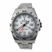 ROLEX Explorer II 42mm 216570 Stainless Steel Polar White GMT Watch