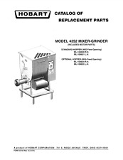Hobart Mixer 4352 Wiring Diagram. . Wiring Diagram on