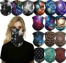 Motorcycle Bandana Tube Half Face Mask Scarf Neck Gaiter Face Shield Mouth Cover