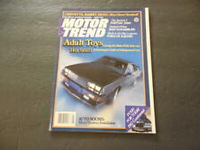 Motor Trend Aug 1981 Adult Toys (No, Not Those Kind)         ID:25010