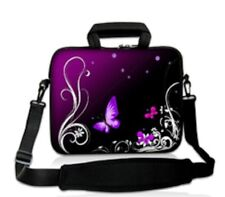 "15""-15.6""LAPTOP SLEEVE WITH HANDLE STRAP CARRY CASE BAG FOR ALL LAPTOPS *PURPLE*"